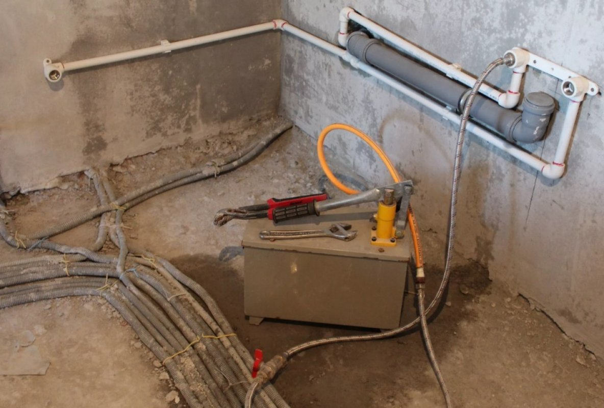 опрессовка бетона
